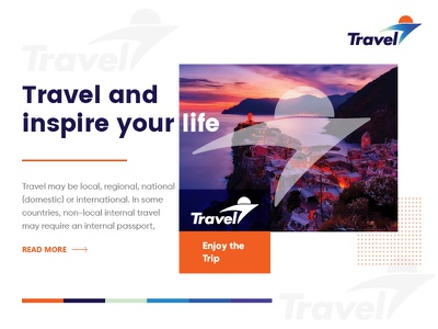 Travel Logo Exploratio travel illustration ui pack logo design icon logo