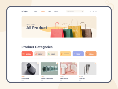 E-Commerce / Product Page shop interface dashboard ui dashboard ecommerce app app design ui web design uidesign uiux online marketing online shopping online shop product design product page shopping ecommerce