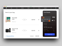 Redesigned Apple Store online booking