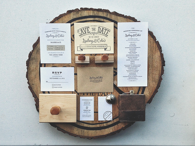 Wedding Collateral whiskey wedding hand lettering stamps save the date invite flask stickers wood