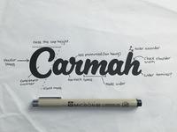 Carmah Sketch