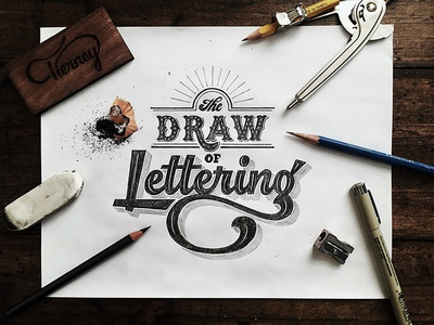 The draw of lettering sketch by colin tierney dribbble the draw of lettering sketch altavistaventures Image collections