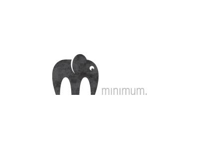 minimum. m elephant minimum logo