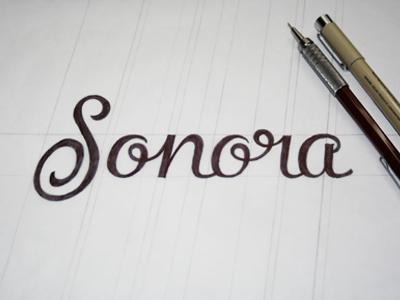 Sonora sketch