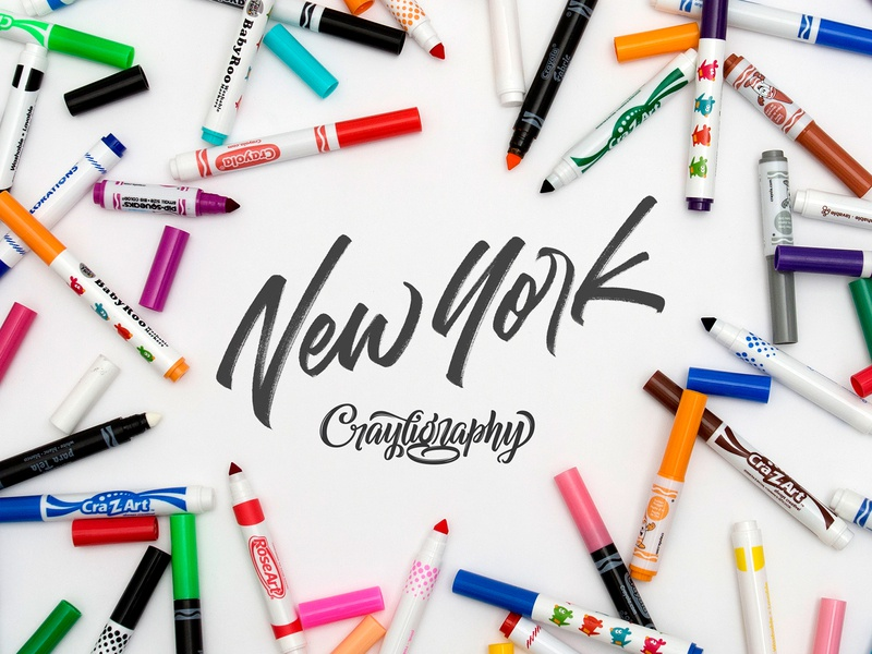 New York City Crayligraphy Workshop beginner typography type design workshop crayligraphy hand lettering lettering calligraphy