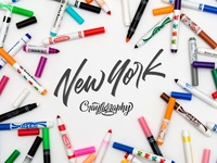 New York City Crayligraphy Workshop