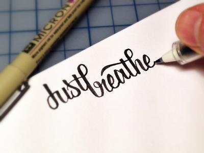 Just Breathe Sketch