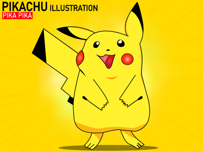 Pikachu Illustration