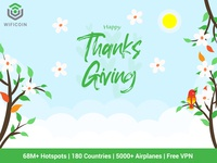 Happy Thanks Giving Wificoin Dribbble