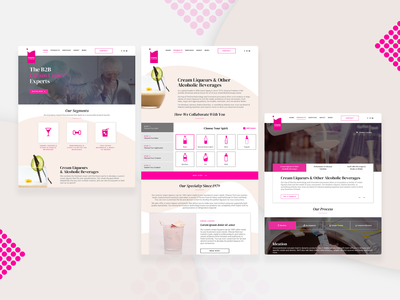 Creamy Creation beverage emulsified mrsmith creation creamy ui ux user experience design project solution engineering visual development experience branding