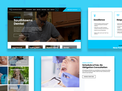 Southtowns Dental application experience web experience website concept website design user solutions user interaction user experience user interface ux ui app branding agency identity design venture engineering solution visual development experience