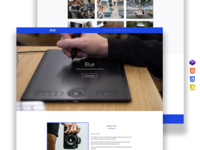 Blue | Responsive Scrolling Bootstrap Template