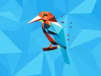 Bird Polyart