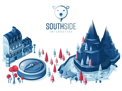 Southside-Interactive, since 2014 design isometric illustration uidesign uxdesign southsideinteractive dribbblers