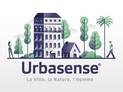 🌳 Urbasense ⚙️ app illustration web illustration agrotech appmobile logodesign trees citizen illustration city building branding uxdesign uidesign