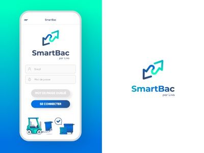 🛻 SmartBac ⚙️ designapp authentication ux ui design supply chain branding uxdesign uidesign