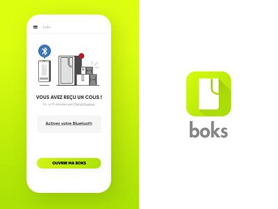 📦 Boks 📫 android ios app design ui ux ux design ui design illustration mobileapp bluetooth delivery b2c