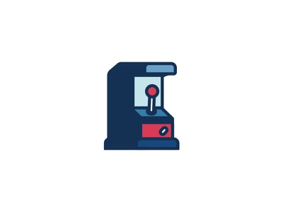 🐻❄️Southside Interactive 🎰 iconography retro arcade gaming icondesign iconset icon uidesign ui illustration