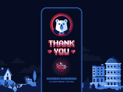 🕹️Happy New Year 2021 🧨 love vector wishes 2021 bear retro gaming retro design aftereffects illustrator illustration gaming animation