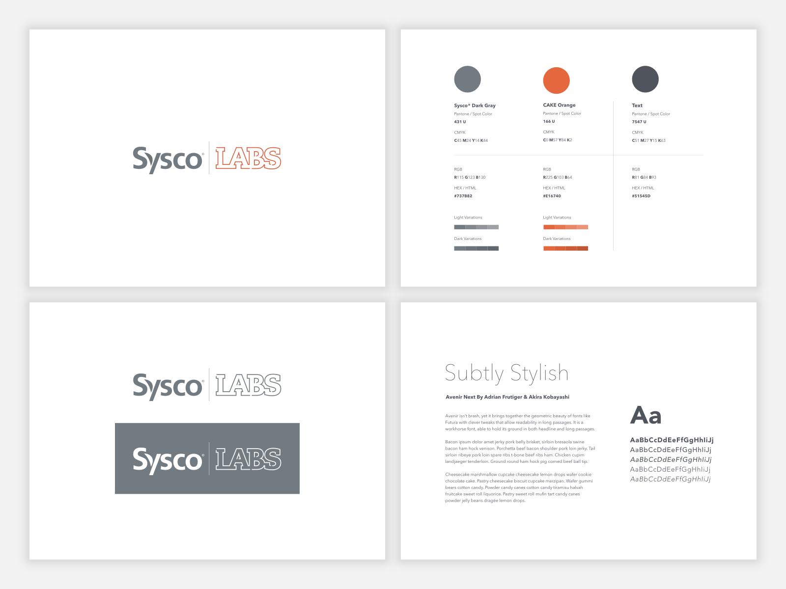 Sysco labs branding 2x