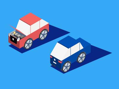 Isometric cars vehicle car vector illustration graphic design isometric illustration isometric design isometry