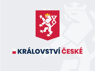 Kingdom of Bohemia - return of the king coat of arms simplified illustrator king kingdom