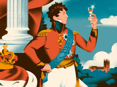 History of Cognac history cognac food russia illustration