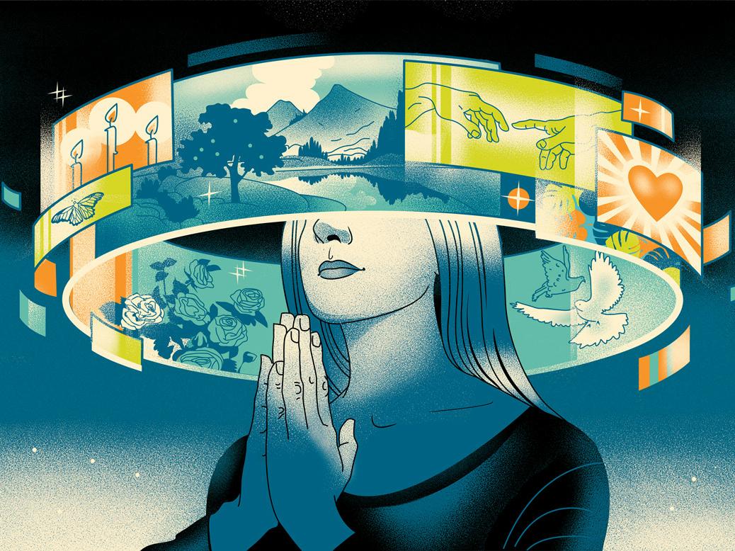 Utopia. The Future Of Video Advertising girl illustration video future utopia