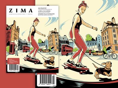ZIMA magazine cover