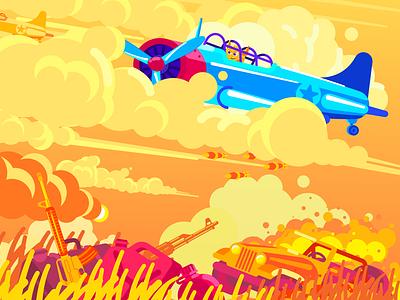 War war flat design vector illustrator illustration art character artist illustration