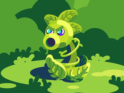 Plant art vector illustrator cute illustration art character artist flat illustration design