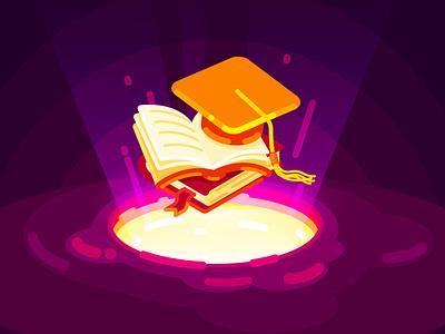 Education 2d flat art vector artist illustration art illustrator character illustration design education