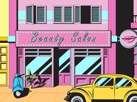 Beauty Salon Comic