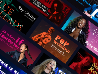 Visual Design for Music Banners