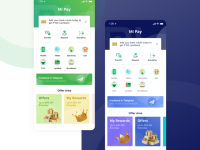 Mi Pay Redesign