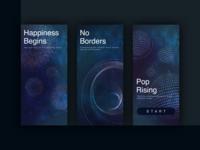Splash Page for Music App