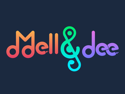 Mell & dee (Game Logo)