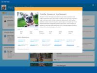 Pet Match Landing Page Match 1