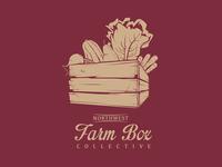 Northwest Farm Box Collective Logo Concept