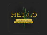 Hello Cannabis Cover