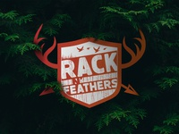 Rack N' Feathers Logo