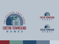 Custom Home Builder Logo Draft