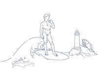 Surfing David