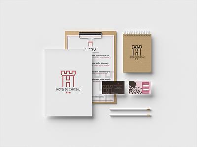 BRAND DESIGN HÔTEL ident visual  identity idenity typography graphic design logo designer brand design brand and identity graphisme graphic design work graphic branding logo photoshop illustrator brand print design