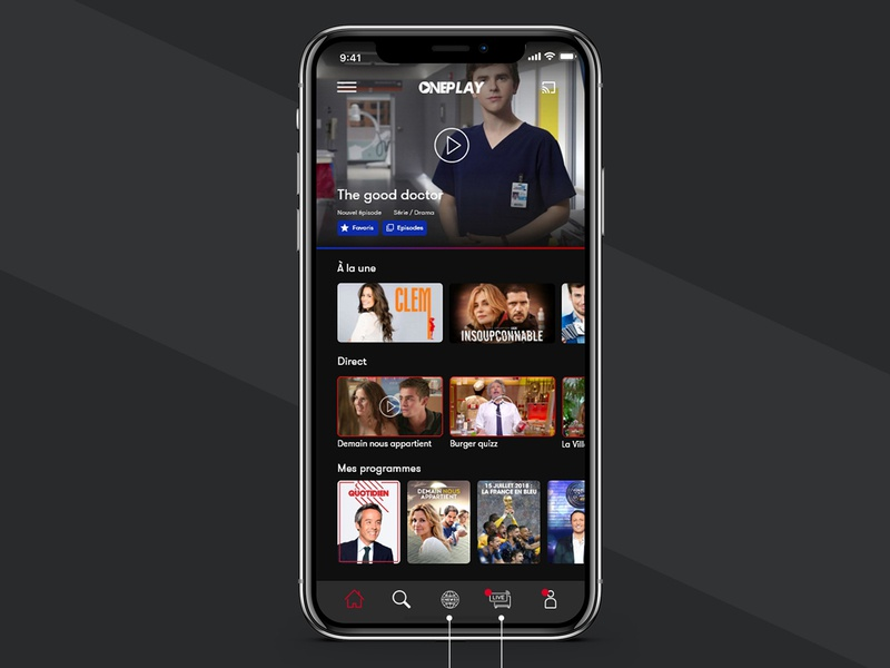 UI/UX Design for video app app concept uidesign ux design work web web deisgn application design app designer app design app netflix ux ui graphic design branding brand graphic design