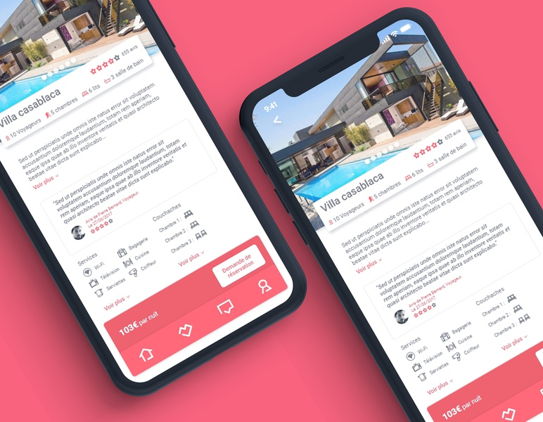 UI / UX design for Airbnb app web airbnb branding application photoshop uidesign brand app design app concept app iphone user inteface ux design ux graphisme graphic design work graphic design ui