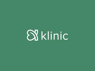 Klinic #logo graphic design branding
