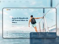 Hexa Travels Landing Page