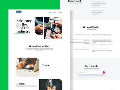 Fintech1000+ Website
