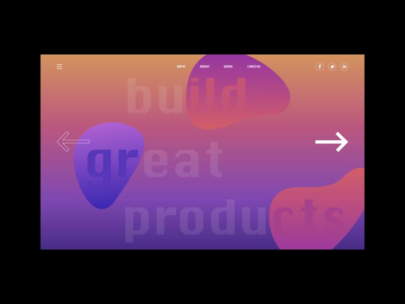 Gradient Exploration minimal web gradient design gradient color gradient design